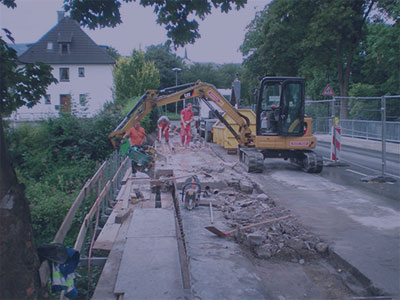 Sanierung und Bauen im Bestand