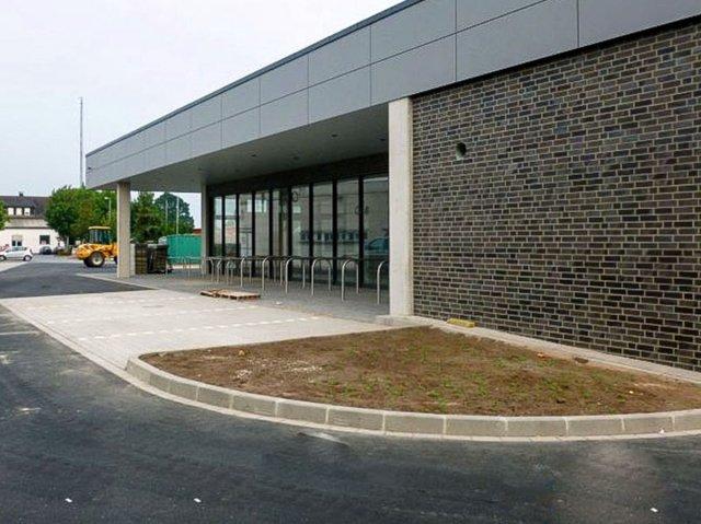 Neubau eines Discountermarkte in Erwitte