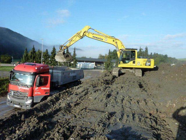 Neubau einer Industriehalle